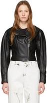 Stella McCartney Black Alter Leather Biker Jacket