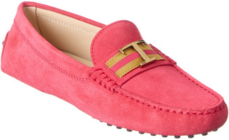 Tod's TodS Mid T Suede Loafer