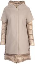Herno Contrast Fabric Coat