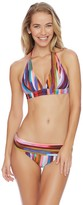 Athena Kaliedostripe Kalena Halter Bikini Top