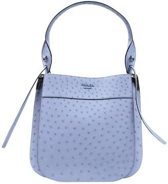 Prada \N Blue Ostrich Handbags