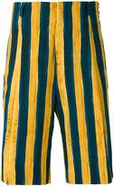 Fendi striped shorts - men - Cotton/Spandex/Elastane - 46