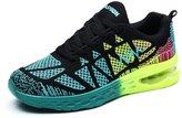 JARLIF Women's Road Running Sneakers Fashion Sport Air Fitness Workout Gym Jogging Walking Shoes US8