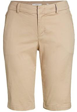 Vince Side Buckle Cargo Bermuda Shorts