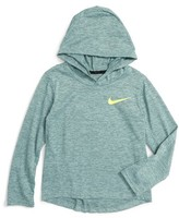 Nike Toddler Boy's Hooded Dri-Fit Training T-Shirt