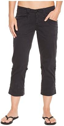 Aventura Clothing Arden V2 Capris (Black) Women's Capri