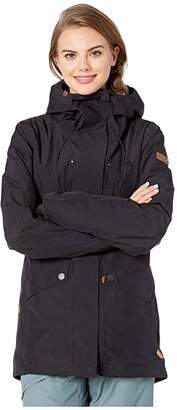 Roxy GORE-TEX(r) 2L Glade Snow Jacket (True Black) Women's Coat
