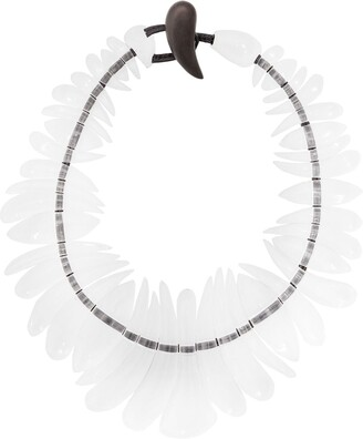 Monies Jewellery Transparent Necklace