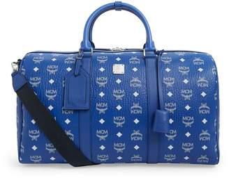 MCM Traveler Visetos Weekend Bag