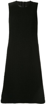 Comme Des Garçons Pre Owned Woven Layered Dress