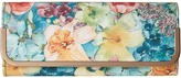 Jessica McClintock Addison Soft Floral Flap Clutch Clutch Handbags
