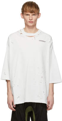 Unravel Off-White Motion Vintage J Box T-Shirt