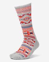 Eddie Bauer Women's Trail COOLMAX® Crew Socks - Pattern