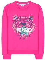 Kenzo Embroidered Cotton Sweatshirt