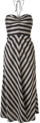 Rebecca Vallance Nautique sleeveless midi dress