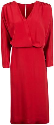 Alberta Ferretti Rear Keyhole Dress
