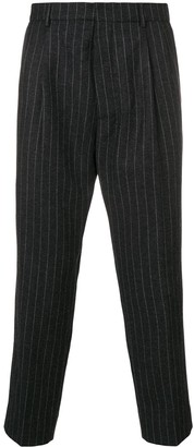 Ami High-Waisted Pleated Trousers