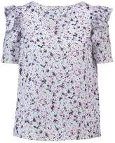 Dorothy Perkins DITSY FLORAL Blouse purple