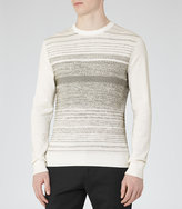 Reiss Ashes Dot Stripe Jumper