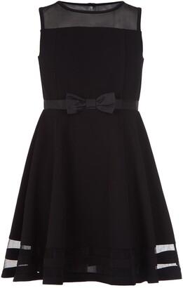 Calvin Klein Illusion Mesh Dress