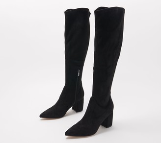 Marc Fisher Solid or Snake Tall Shaft Boots - Retie