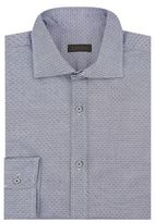 Z Zegna Mini Diamond Oxford Shirt