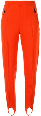 Giorgio Armani High-Waist Stirrup Trousers