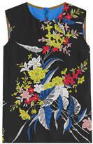 Diane von Furstenberg Printed Silk Shell