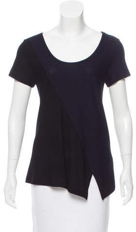Derek Lam Colorblock Short Sleeve Top w/ Tags