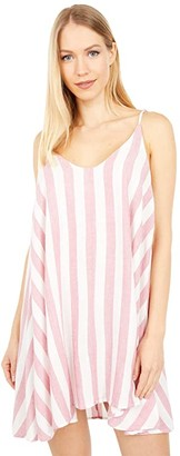Hurley Bronte Cami Dress (Berry) Women's Clothing