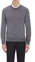 Zanone MEN'S CREWNECK SWEATER-GREY SIZE S
