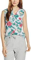 Wrangler Women's Seasonal Scooter Floral Sleeveless Tops
