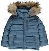 Il Gufo Fur Hooded Down Jacket