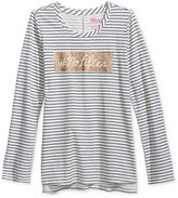 Epic Threads Girls' No Filter Graphic-Print Long-Sleeve T-Shirt, Only at Macy's