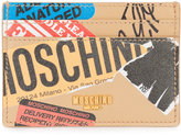 Moschino Shipping Patch card holder