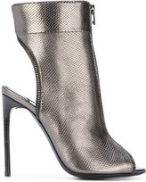 Tom Ford zipped bootie sandals - women - Calf Leather/Leather - 36.5