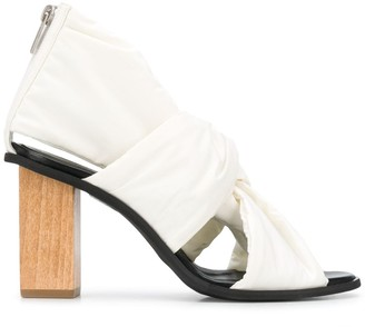 Christian Wijnants Abra 90mm knotted sandals