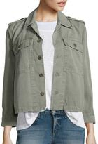 Amo Cotton Canvas Army Jacket