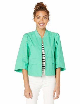 BCBGeneration Women's RIBSTOP Cropped Bomber