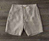 Madda Fella The Truman Washed Linen Shorts - Khaki