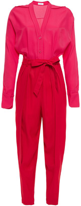 Equipment Two-tone Twill Jumpsuit