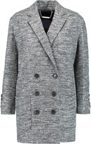 Marc by Marc Jacobs Metallic cotton-blend tweed coat