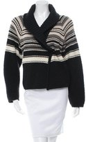 Sonia Rykiel Fleece Wool & Angora-Blend Cardigan