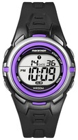 Timex Women's Marathon® by Digital Watch - Black/Purple T5K364TG