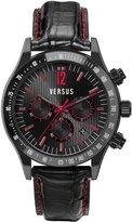 Versus By Versace Versus Men's SGC040012 Cosmopolitan calfskin band watch.