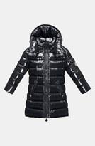 Moncler 'Moka' Hooded Down Jacket (Toddler Girls, Little Girls & Big Girls)