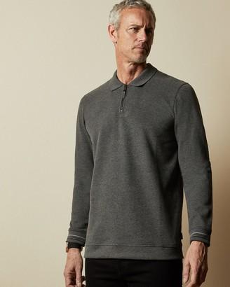 Ted Baker NEWCATT Tall long sleeved polo top