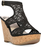 Fergalicious Kendra Platform Wedge Sandals Women's Shoes