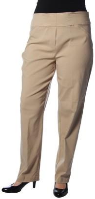 Alfred Dunner Women's Petite Medium Slim Leg Pant