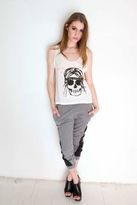 Sauce Princess Skull Tank in White